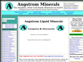 angstrom minerals Promo Codes
