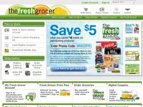 fresh grocer Promo Codes