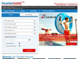 vacationoutlet Promo Codes
